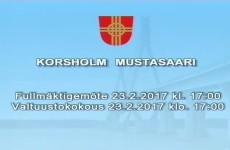 Korsholms Fullmäktige möte 23.2.2017 - Vimeo thumbnail